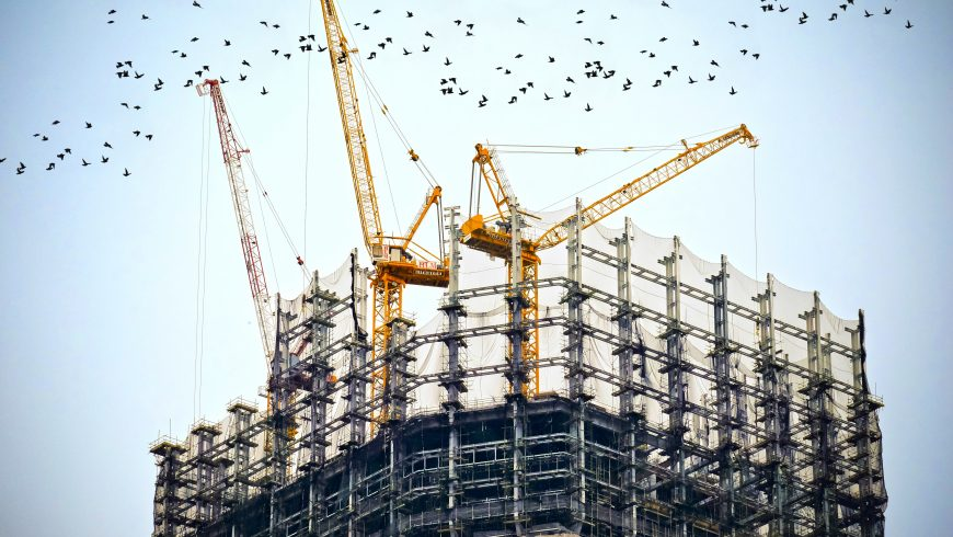 Construction output dips in April