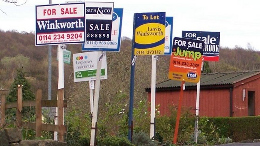 How new build prices compare to existing property