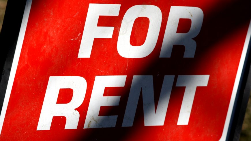 Rents fall for London new builds