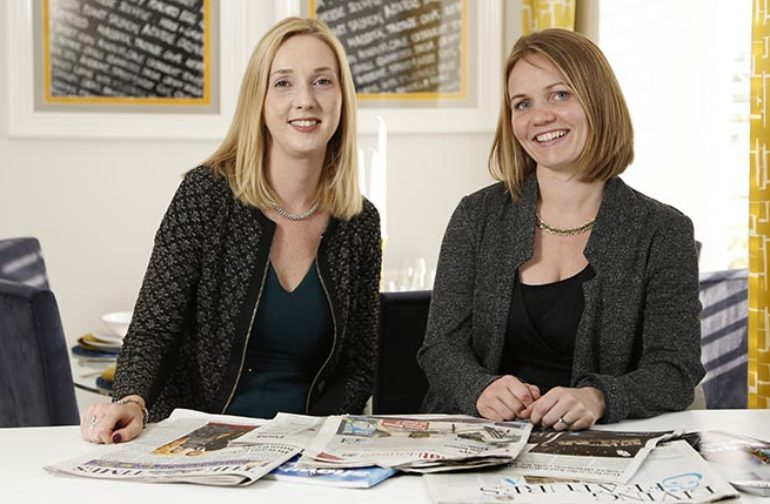 We'll meet again – the joining of two careers in property PR