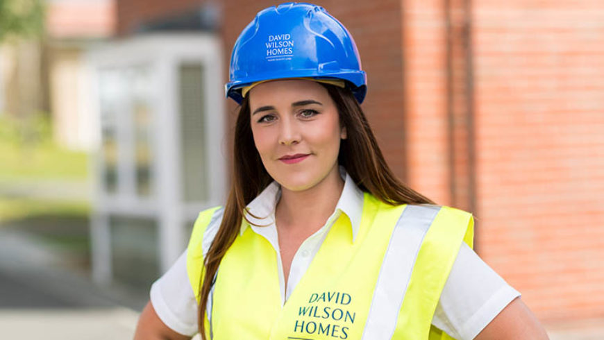 Michaela delighted at becoming an award-winning site manager