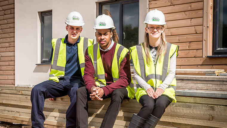 New apprenticeship scheme sees three new roles at Midlands housing provider