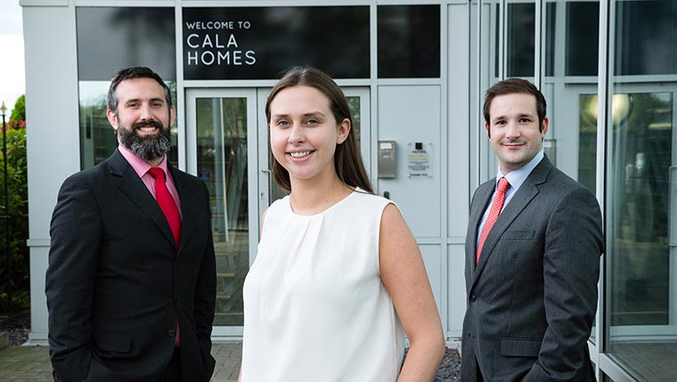 Three new additions to CALA Homes planning team