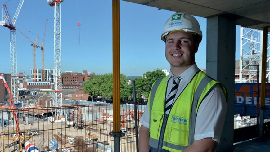 Career progression for ambitious 21-year-old at Fairview New Homes