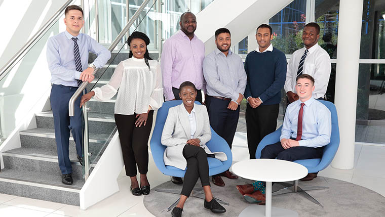 Eight graduates join Lovell London as apprentices
