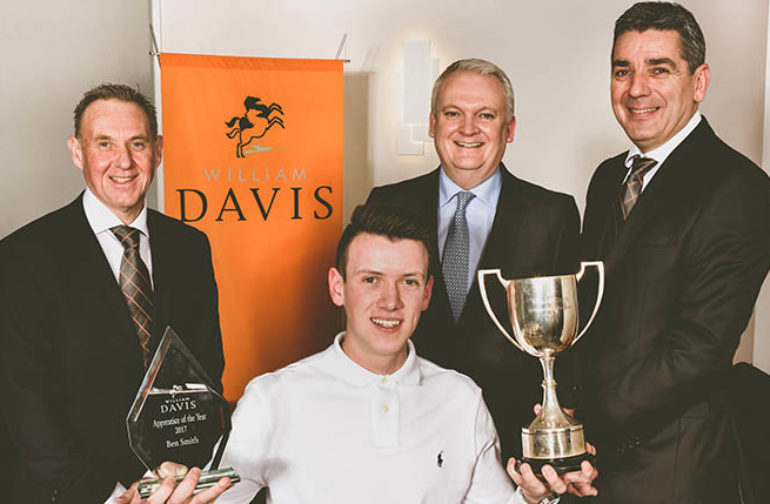 William Davis Homes announces Apprentice of the Year