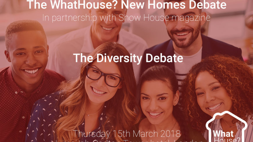 New Homes Debate champions diversity in housebuilding