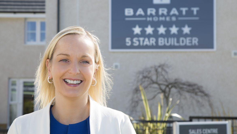 Barratt West Scotland appoints first woman director