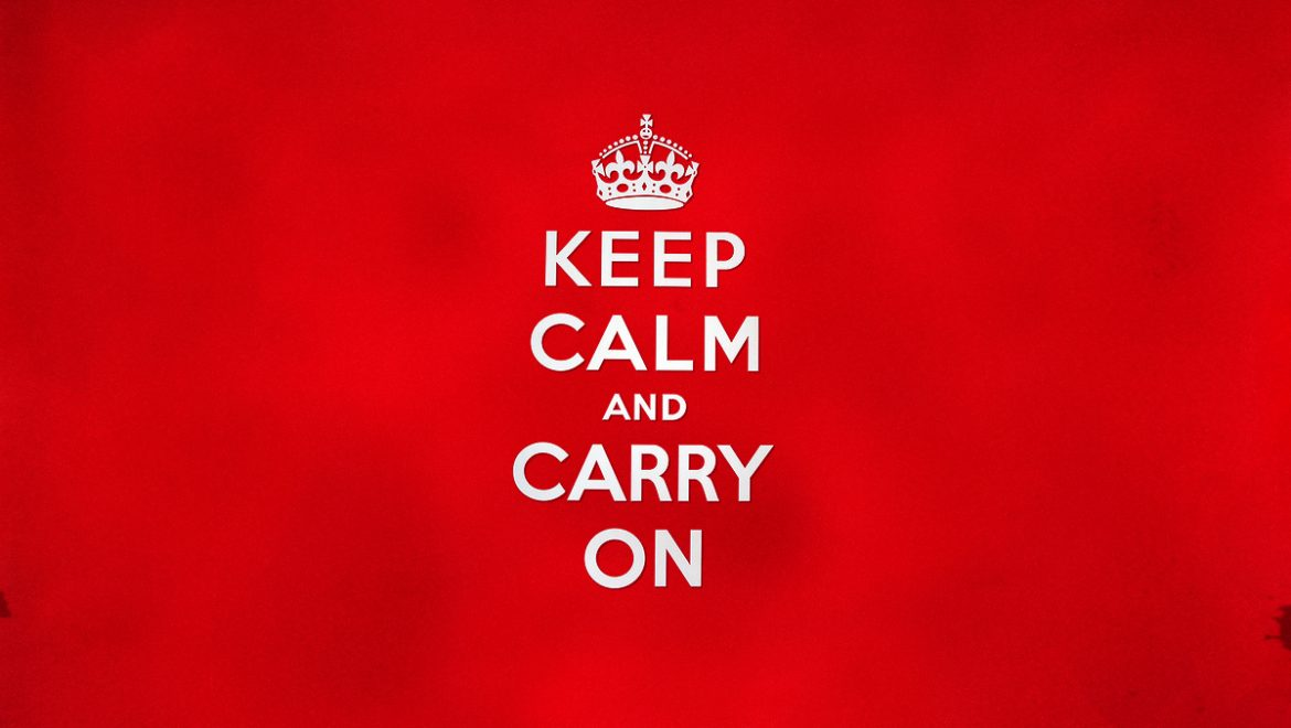 FMB: Keep calm and carry on building