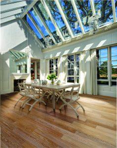 9. Kahrs Oak Sand conservatory
