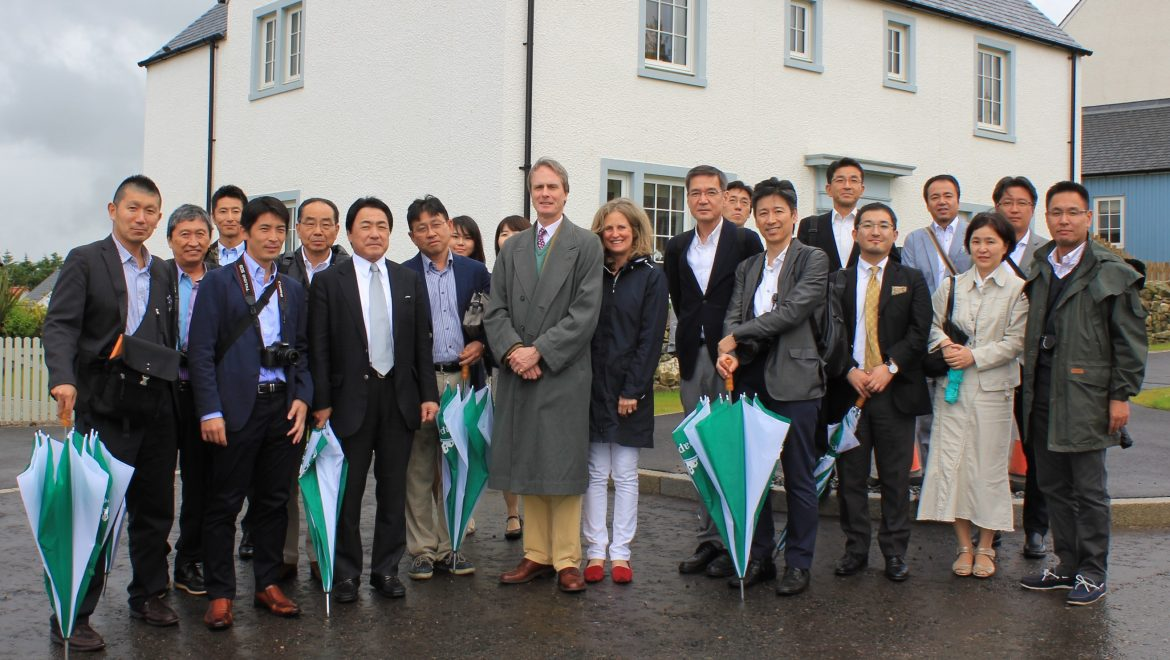 Japanese keen to learn from Scottish housebuilders