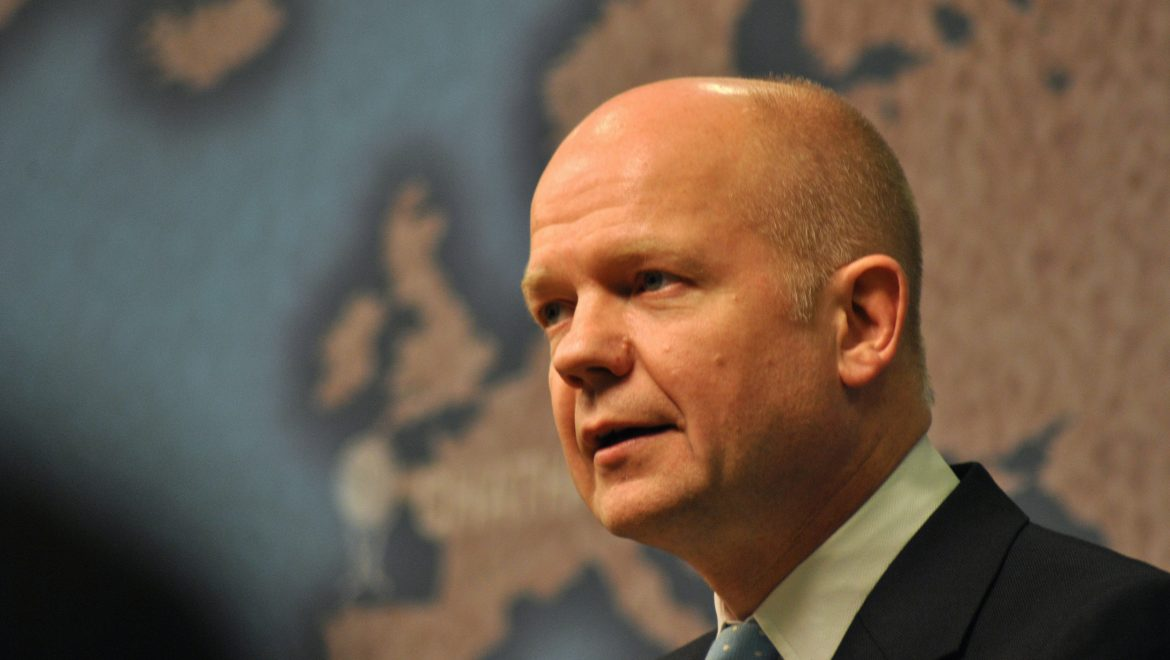 Lord Hague to host New Homes Debate