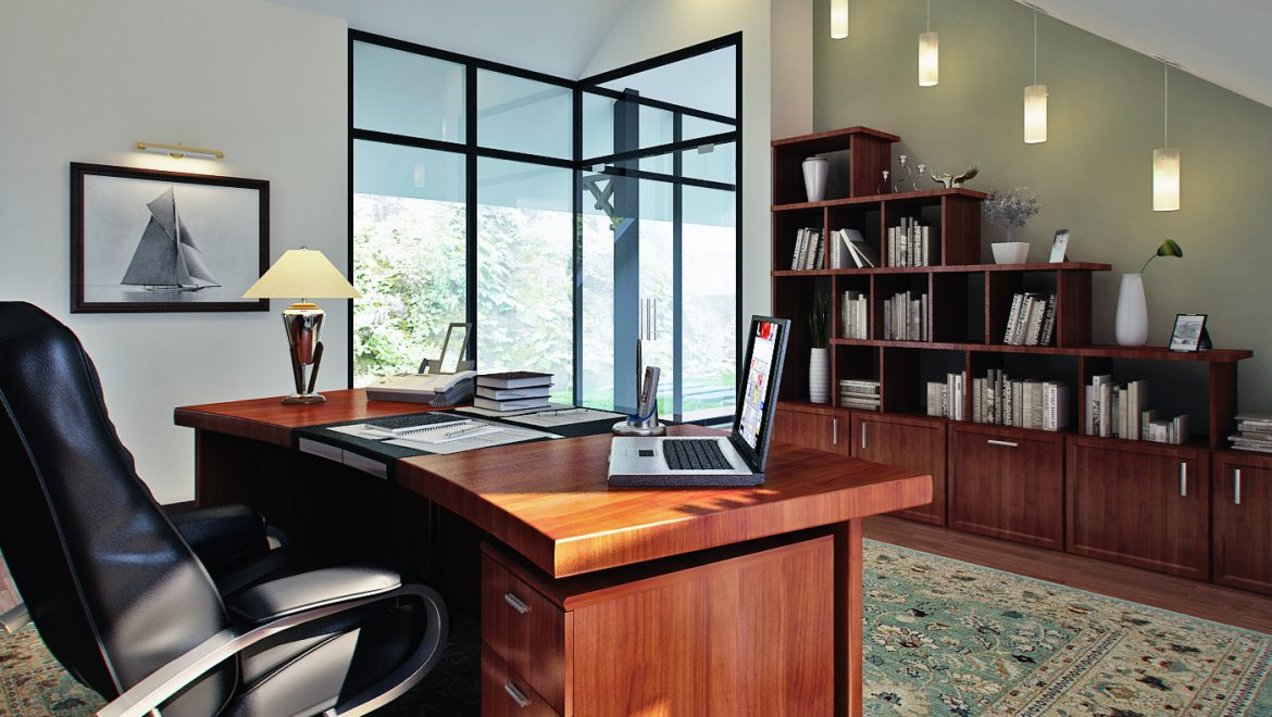 A study in beige: how the home office is evolving