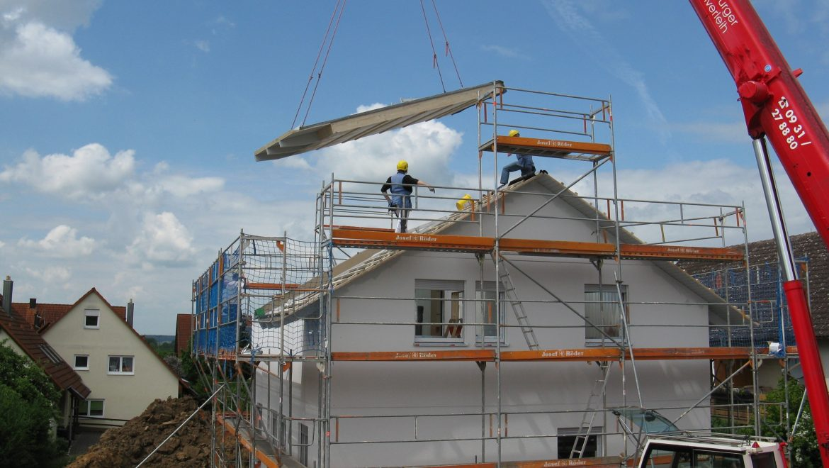 Housebuilding starts hit pre-recession levels