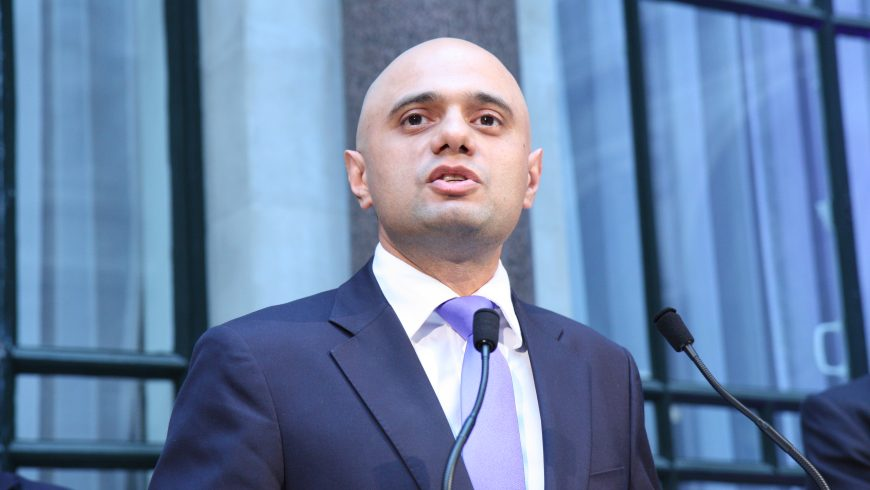 Sajid Javid: building more homes is my top priority