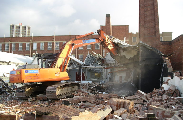Booming marvellous: the upside of demolition