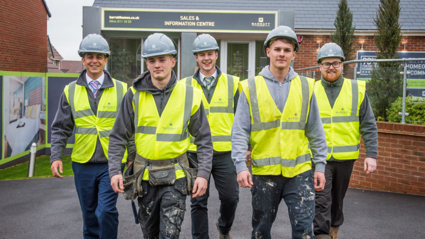 Why housebuilders need to hire more apprentices