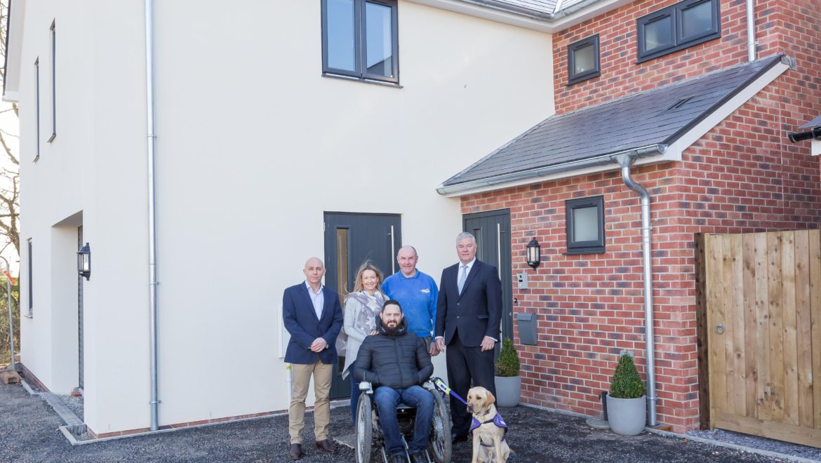 Property industry rallies to build house for royal marine veteran