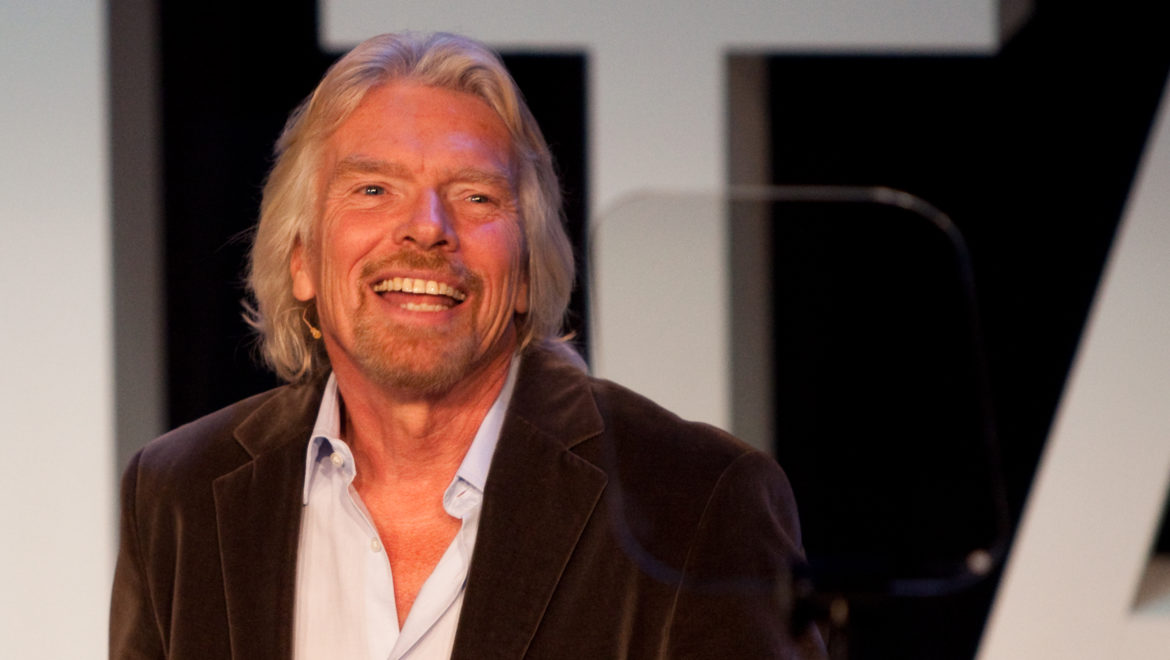 Construction industry votes for Richard Branson