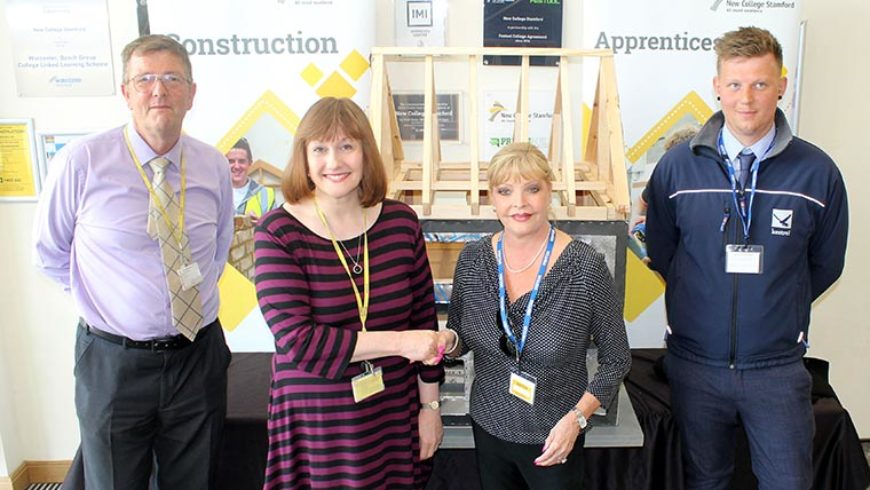Larkfleet donates scale model of home to local college