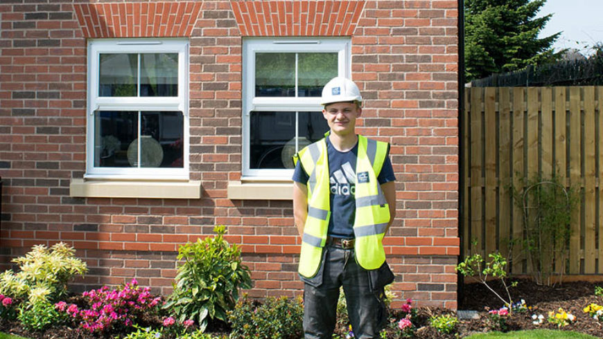 Duchy Homes contributes to new joinery apprentice in Yorkshire