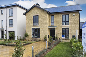 Show home at Bovis Homes' Furlong Rise development