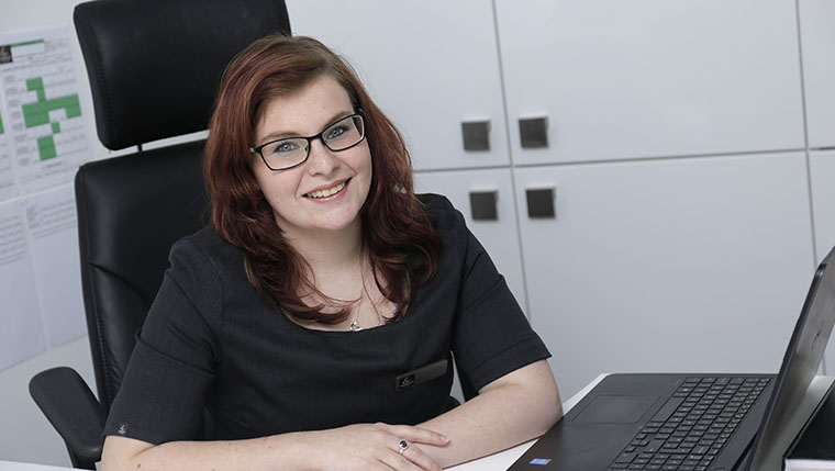 Career shift into new homes industry brings satisfaction to Laura