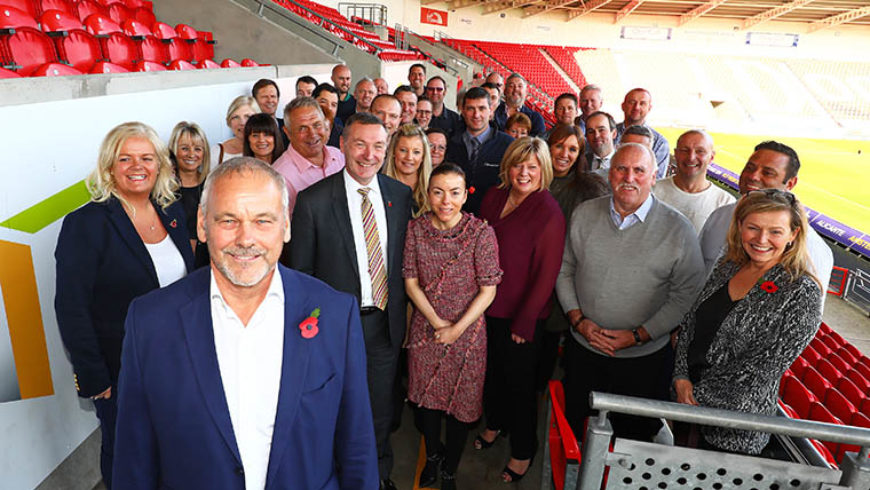 50-year career in construction at Keepmoat for John
