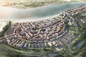 Masterplan for Barking Riverside London