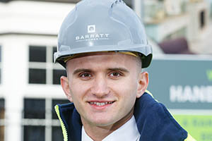Tomas Jackson of Barratt Homes