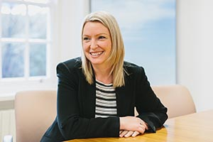 Kelly Sharman of Hayfield Homes