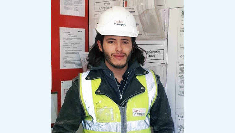 Taylor Wimpey Southern Counties announces its Apprentice of the Year