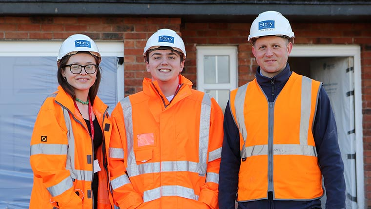 Housebuilder offers work placements to sixth formers in Cumbria