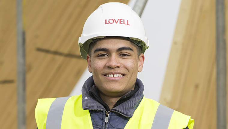 Apprentice Otis becomes landmark employee for Lovell