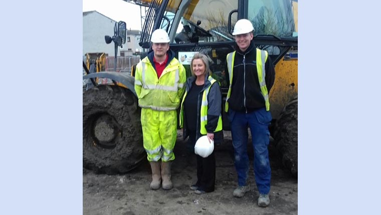 Construction Academy in Fife helps local people into work