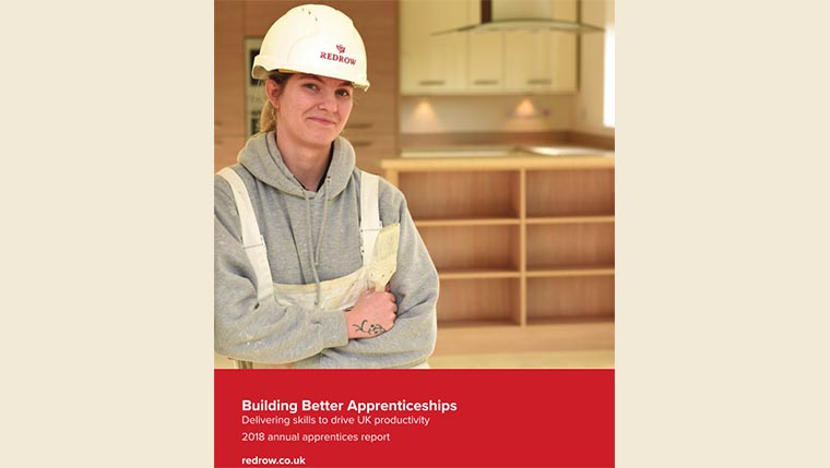 Redrow research reveals perception of construction apprenticeships