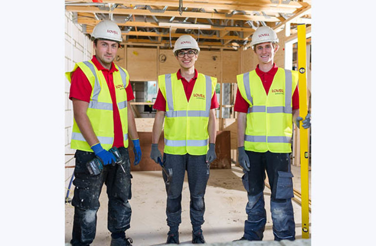 Lovell celebrates diverse range of apprenticeships it offers