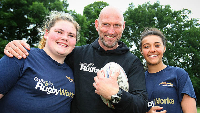 Dallaglio signs up to Show House