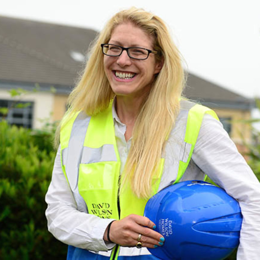 Zoe climbs career ladder with David Wilson Homes