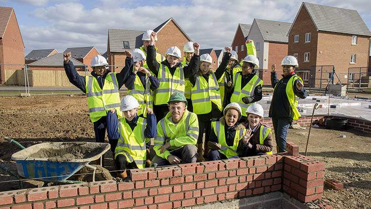 Open Doors for youngsters at Linden Homes developments