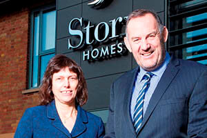 Lindsey Pownall and Fred Story of Story Homes