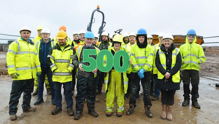 Springfield Properties breaks 500 employee landmark