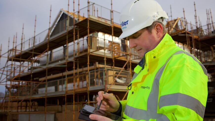 Miller Homes creates new site manager app