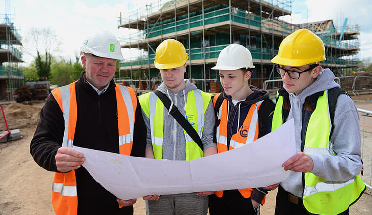 Multi-trade students go on-site with Westleigh