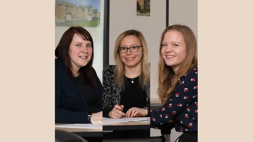 Bloor Homes team encourages women into property