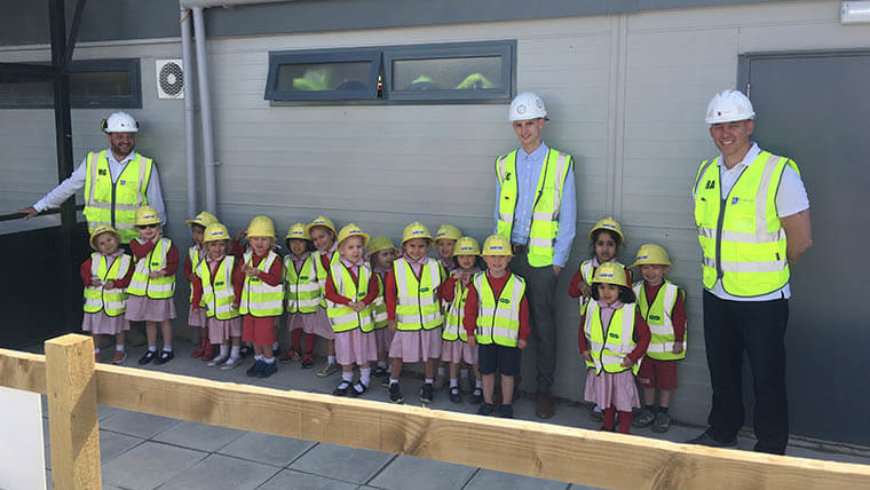 Inland Homes gives children an early industry insight