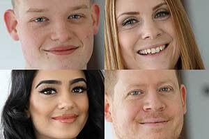 Hanisha Kavia, James Badger, Lyndsey Macauley and Matthew Swann of Bloor Homes