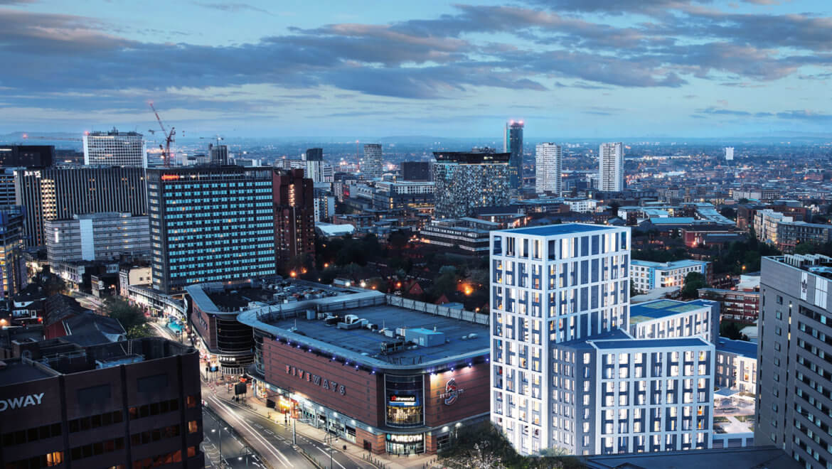 Birmingham to get its first hotel-serviced flats