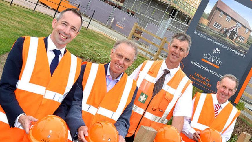 Housebuilder seeking apprentices now for Chesterfield development
