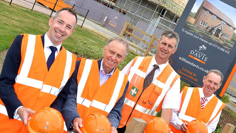 Housebuilder seeking apprentices now for Chesterfield development